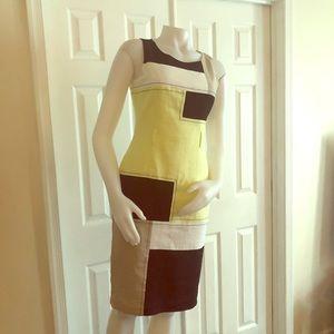 Marks & Spenser Color block Dress UK 8 US 4